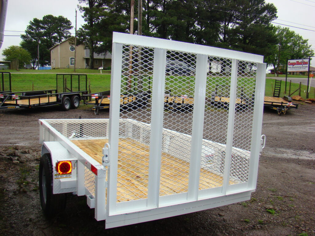 CM 5x10S 4ft gate White (5)