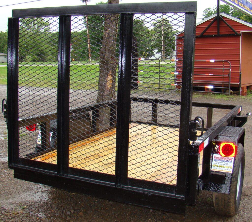 CM 5x8S 4ft gate Black (6)