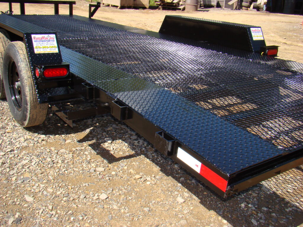 CM 8220T black mesh deck car hauler.3